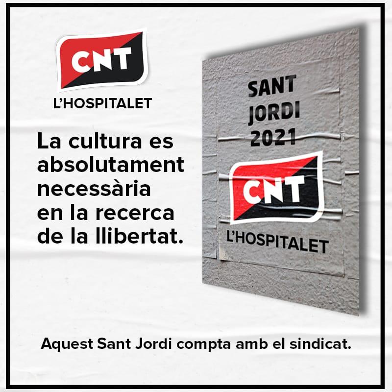 Dia del llibre a la CNT de L'Hospitalet